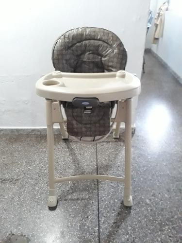 Silla De Bebe Para Comer Marca Graco.