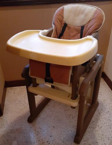 Silla De Comer Para Bebe 2 En 1 Con Mesa De Entretenimiento