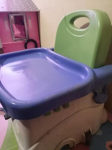 Silla Portatil De Comer Para Bebes- 30 Verdes