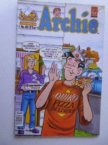 Archi Nro. 22- Comic Fisico En Español Ediposter Mexico