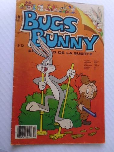 Bugs Bunny, El Conejo De La Suerte,nro.2-12 Comic En Físico