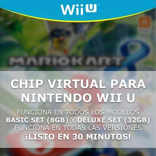 Chip Virtual Para Nintendo Wii U + 4 Regalos