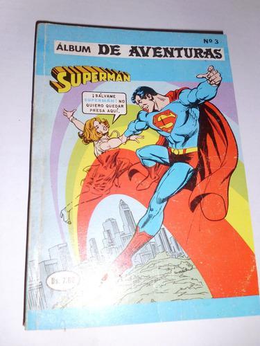 Comic Album De Aventuras Presenta: Superman Nr 3 En Fisico