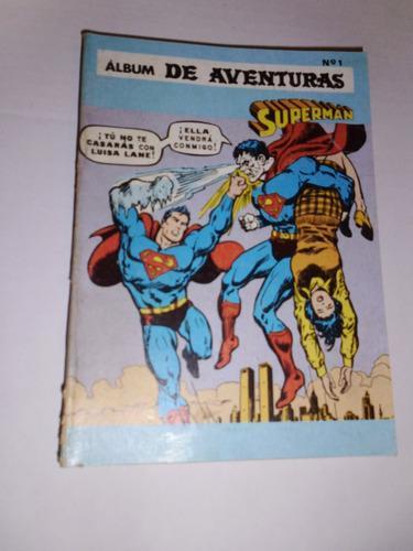 Comic Album De Aventuras Presenta: Superman Nro. 1 En Fisico