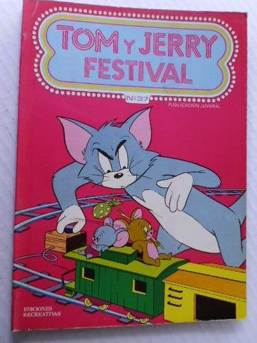 Festival De Tom Y Jerry Nro. 37 España Comic En Físico