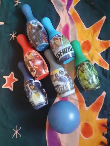 Juego De Bowling Para Niños De Los Vengadores