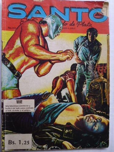 Santo, El Enmascarado De Plata Nro. 101 Comic En Físico