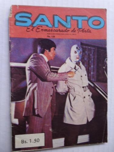 Santo, El Enmascarado De Plata Nro. 129 Comic En Físico