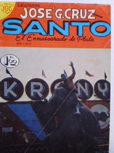 Santo, El Enmascarado De Plata Nro. 13 Comic En Físico