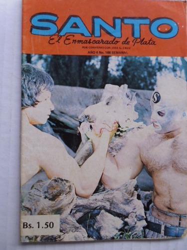 Santo, El Enmascarado De Plata Nro. 166 Comic En Físico