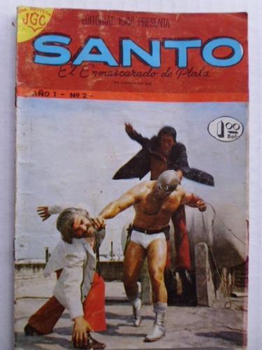 Santo, El Enmascarado De Plata Nro. 2 Comic En Físico