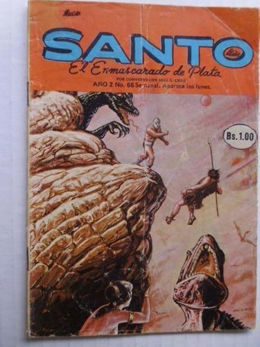 Santo, El Enmascarado De Plata Nro. 66 Comic En Físico