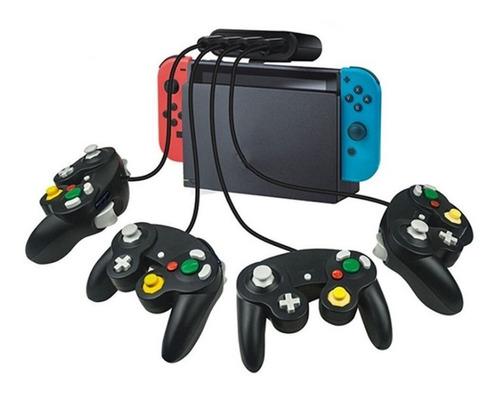 Adaptador Para Nintendo Switch 4 Controles De Gamecube