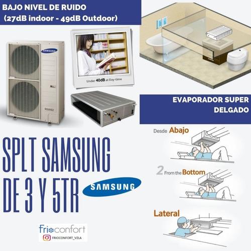 Aire Acondicionado Samsung Tipo Fan Coil 3 Y 5 Tr Horizontal