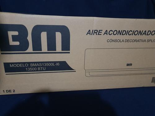 Aire Acondicionado Split  Btu Consola Lujo Bm Nuevo