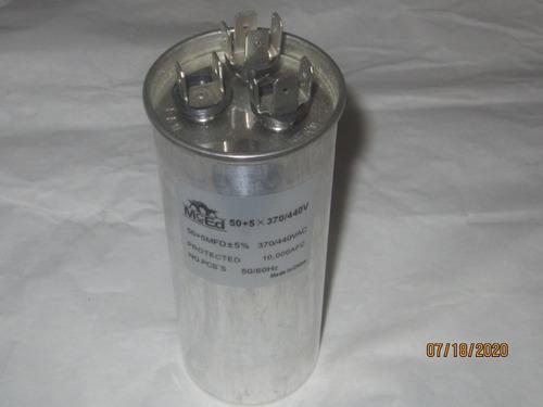 Capacitor Para Aire Acondicionado De 50+5mfd Igual 5%