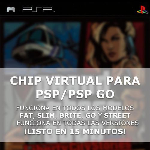 Chip Virtual Para Playstation Portable/go + 6 Regalos