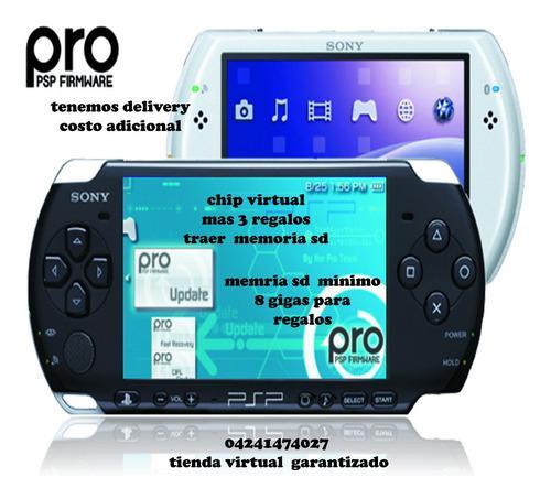 Chip Virtual Para Sony Psp 1000, 2000, 3000, 3001