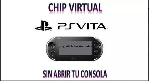 Chip Virtual Psvita Desde 3.60 A 3.73 Aprovecha