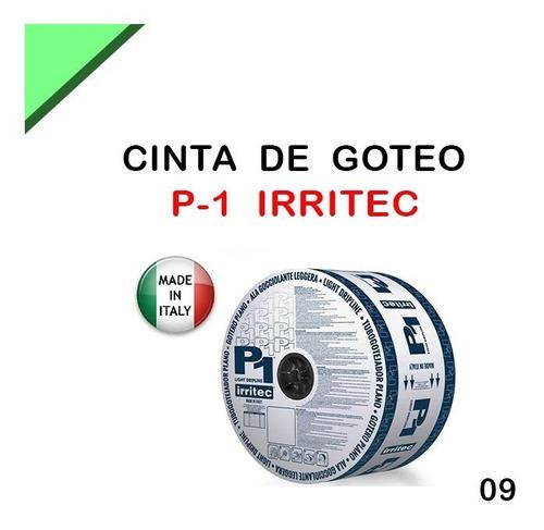 Cinta De Riego Por Goteo Importada Gota 30cm Rollo  Mts