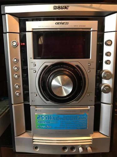 Equipo De Sonido Sony Genezi Mhc-gnx80 5 Altavoces