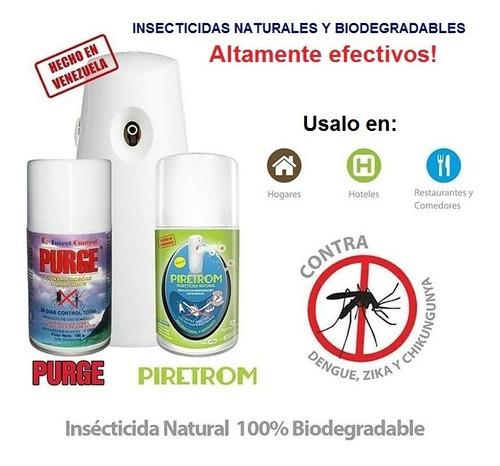 Insecticida Piretrom Mata Moscas Zancudos Y Más Purge