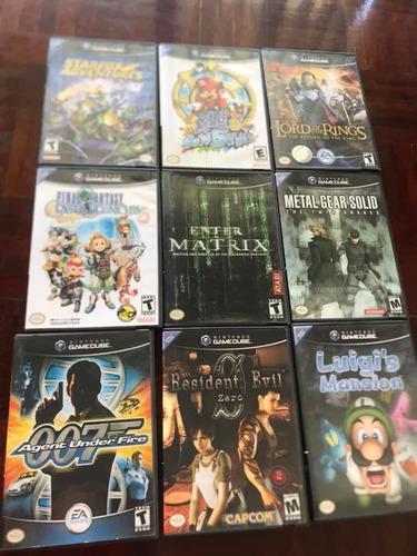 Juegos Nintendo Game Cube Originales