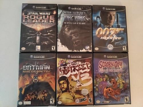 Juegos Originales De Game Cube (10 Vrds)