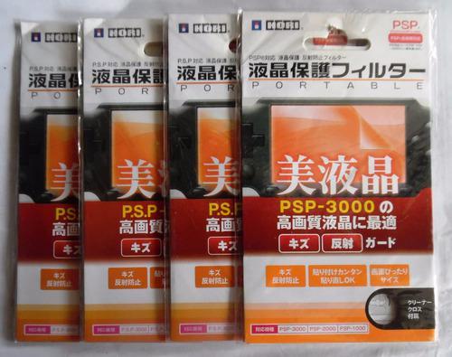 Lamina Protector De Pantalla Transp Sony Psp 1000 2000 3000