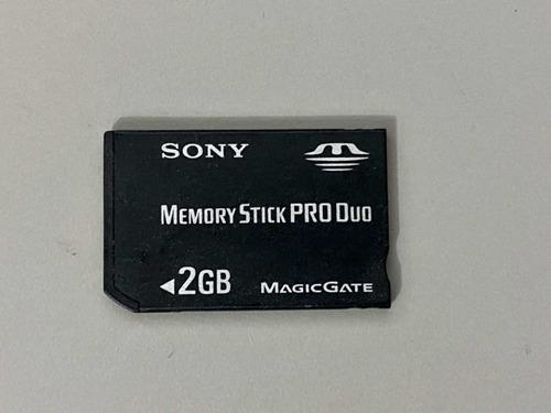 Memory Stick Pro Duo 2gb Sony Magicgate Tarjeta Psp Ps Vita