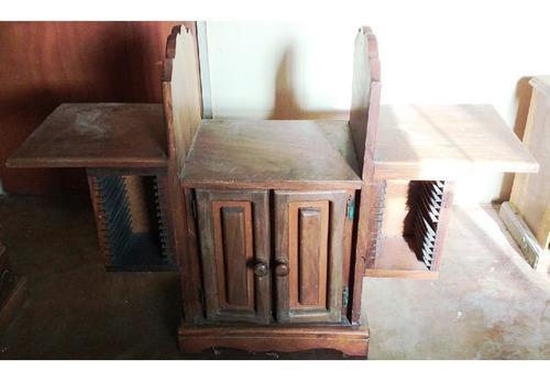 Mesa De Madera Samán Para Equipo De Sonido, Oferta