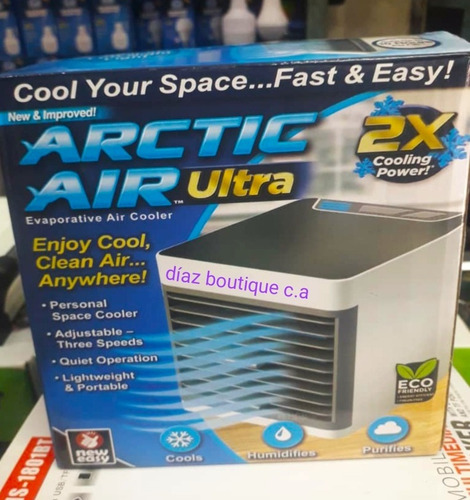 Mini Aire Acondicionado Portátil Recargable Usb. 3 En 1