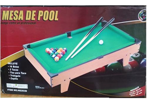 Mini Mesa De Pool Jeidy Toys. Plaza Venezuela