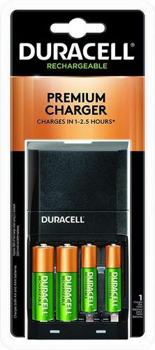 Cargador De Batería Duracell + 2 Baterías Aa 2 Baterías