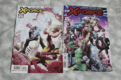 Comic Marvel 1 -2 X Force En Ingles Nuevos Usa