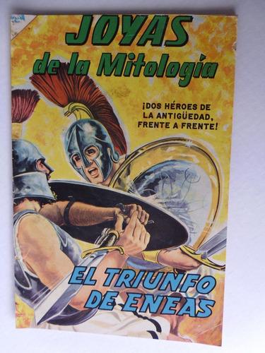 Lote De 7 Comics De Joyas De La Mitología Novaro En Físico