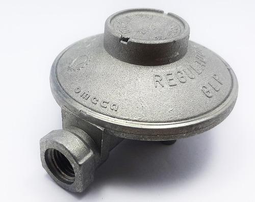 Regulador De Gas Para Bombona De Gas De 18 A 43 Kgs Sin Tee