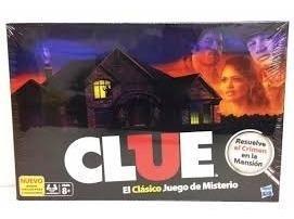 Clue El Clásico Juego De Descubrir Al Culpable!