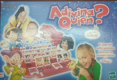 Juego De Mesa Adivina Quién Original Hasbro