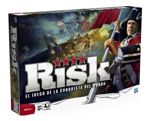 Juego De Mesa Risk Original Hasbro La Conquista Familiar