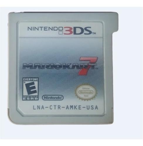 Juego De Nintendo 3ds De Mario Kart 7 Usado En Buen Estado