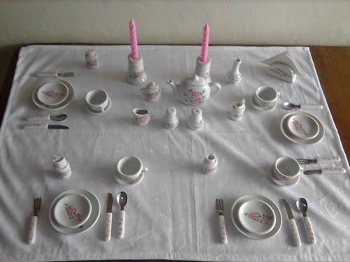Juego De Té Infantil Porcelana