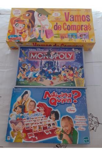 Juegos De Mesa Adivina Quién Monopolio Vamos De Compras
