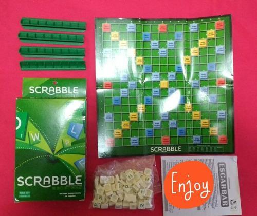 Juegos De Mesa. Rummy Y Scrabble