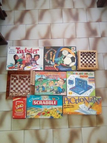 Juegos De Mesa Varios Uno, Quién Sabe Más? Scrabble,