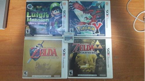 Juegos Nintendo 3ds 25vrd Cada Uno