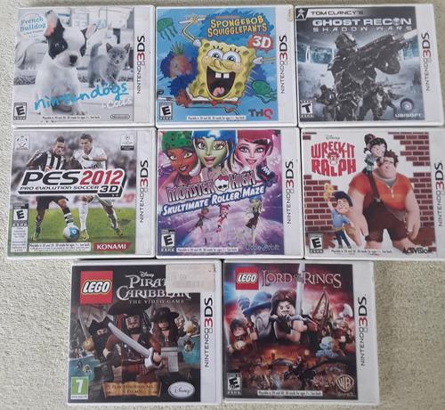 Juegos Originales Nintendo 3ds Solo Venta Somos Tienda