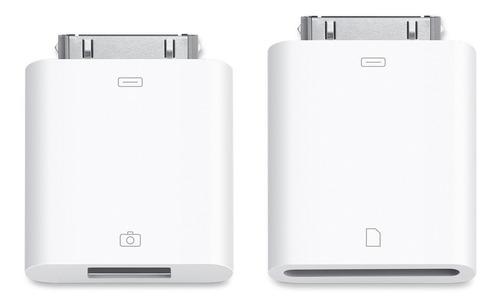 Kit De Conexión De Cámara Apple Y Sd Para iPad Original