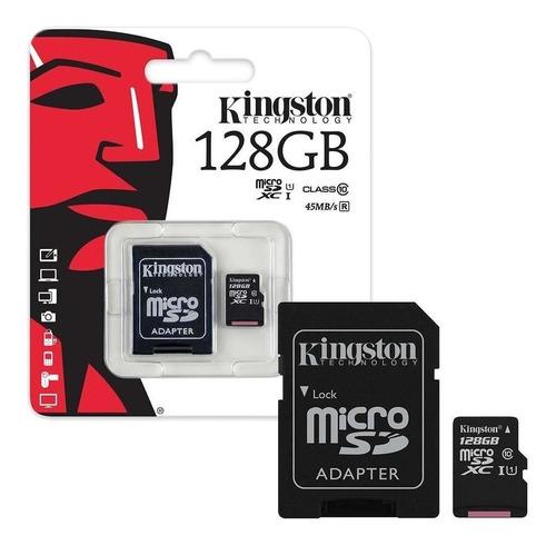 Memoria Micro Sd 128gb Clase 10 Somos Tienda En Chacaito