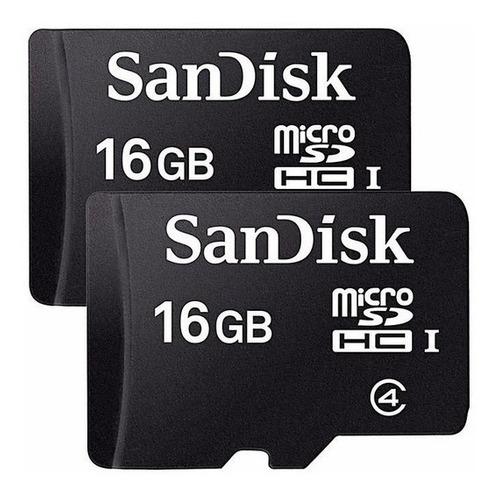 Memoria Micro Sd 16gb Clase 4 Sandisk-con Musica